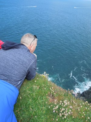 Cliff of Moher edge