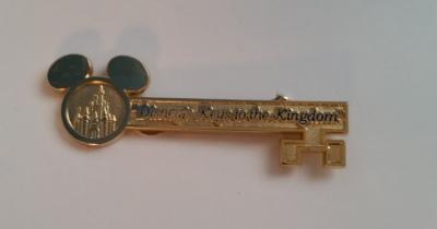 Keys to the Kingdom pin